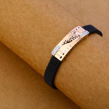 750 Black Chain Rose Gold Bracelet MLB111