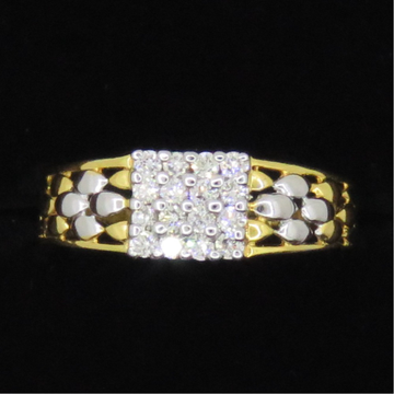 Gold Diamond Ladies Rings KJ-R10