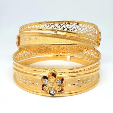 One gram gold forming bangles mga - gf0053