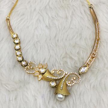 916 Gold Fancy Necklace For Women RH-N001