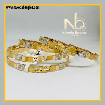 916 Gold CNC Bangles NB - 525