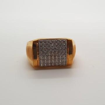 22 ct gold gents ring shober design