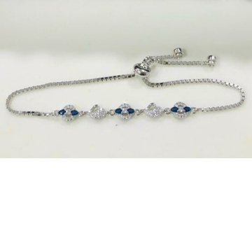 Silver Light Weight Classic Bracelet  by P.P. Jewellers