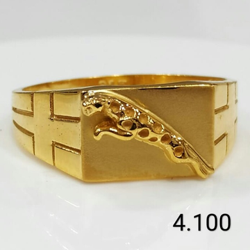 916 gold ring mens by