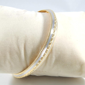 22KT Yellow Gold Delighted Rhodium Plated Brecelet For Men