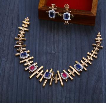 18ct  Rose Gold Exclusive  Hallmark   Necklace Set RN16