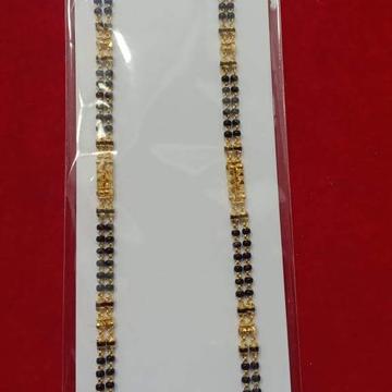 22k(916)Gold Ladies 2 Line Kalkatti M.S Kidiya Ser by Sneh Ornaments