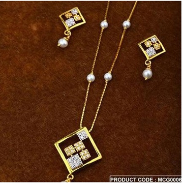 916 Gold Dokiya With Earring by