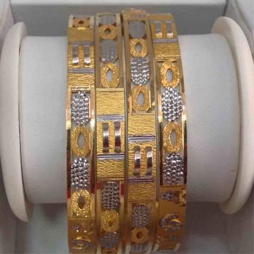 916 Gold 4PCs bangle Set