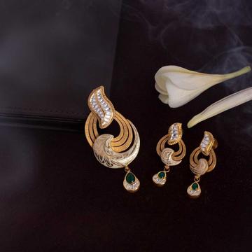 22k Jadtar pendant set Antique by