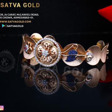 76 ROSE GOLD KADA SGK-0005
