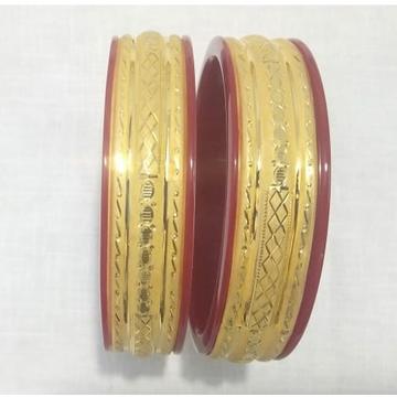 22KT Hallmark Gold Daily wear Design  Plastic Bang... by
