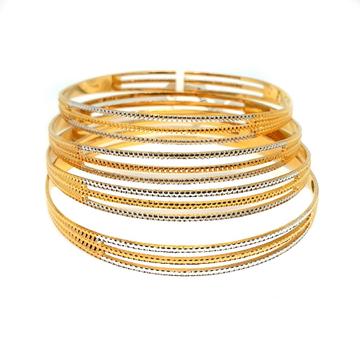 1 gram gold forming bangles mga - gf0022