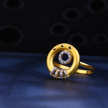22ct Gold Designer Ladies Ring LR98