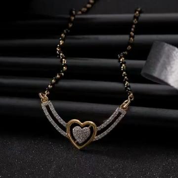 22k Gold Diamond  Mangalsutra by