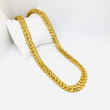BRANDED DESIGNED FANCY GOLD CHAIN by