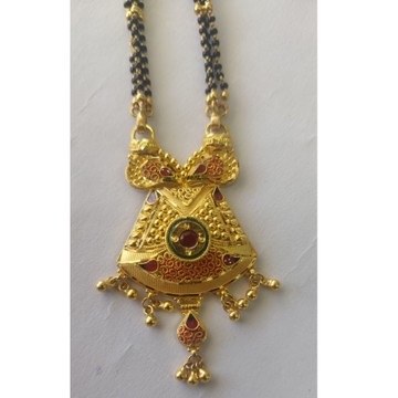 916 Gold Classic Mangalsutra by