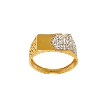 22K Gold Designer Gents Ring MGA - GRG0209