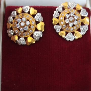 916 Gold hallmarked Earring EK3874