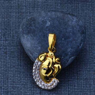 916 Gold Exclusive Designer Pendant GP79