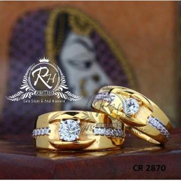 22 carat gold antic couple rings RH-CR815