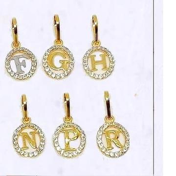 916 Gold 22kt Letter Pendal RH-LP104