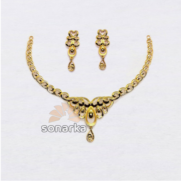 22k-Light-Weight-Yellow-Gold-Necklace-Set