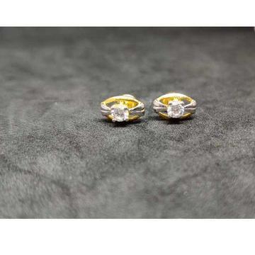 22k Men's Single Stone Earrings