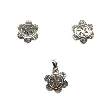 925 sterling silver movable diamond pendant set mga - pts0008