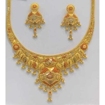 916 Fancy Necklace Set by Vipul R Soni