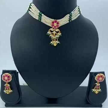 artificial everstylish design hallmark necklace se... by
