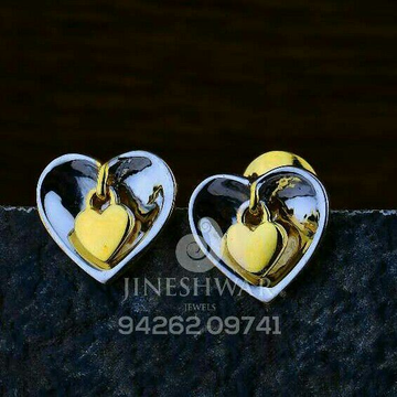 Heart shape Gold Palin casting Tops CTG -0040
