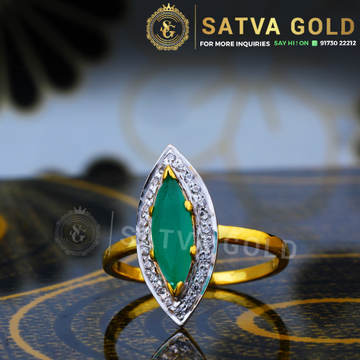 916 gold ring sgr-0043