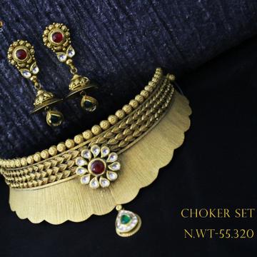 22ct (916) choker set