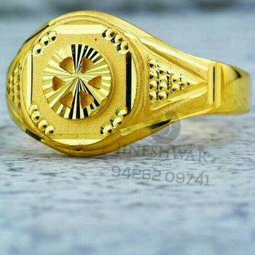 Casting Gold Gents Ring 916