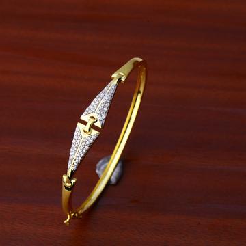 750 Gold Classic Bracelet Kada LKB94