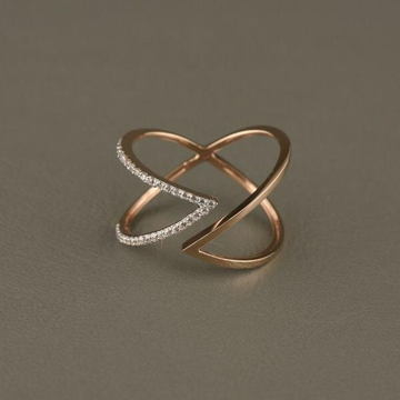 18KT Rose Gold Cayanne Ring For Women