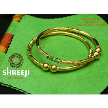 916 Gold Antique Modhiya Copper Kadli Bangle