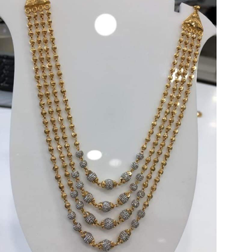 GOLD 22K/916 four layer ladies mala  RH-Ml139