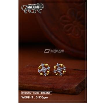 18 carat gold Ladies round tops btg0130 by
