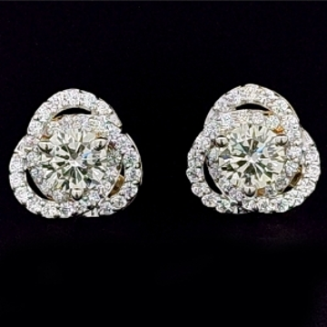 Creative diamond eartops jsj0203