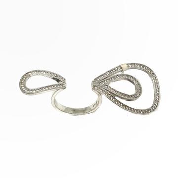 925 Sterling Silver Special Designer Ring MGA - LRS0083