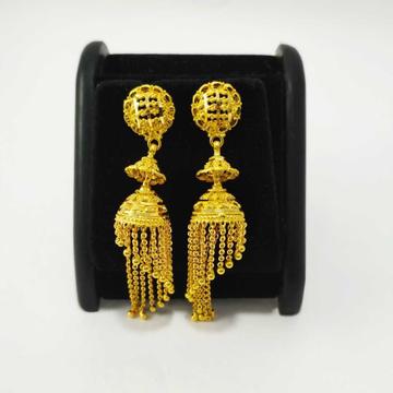 22k gold fancy earring nj-e010