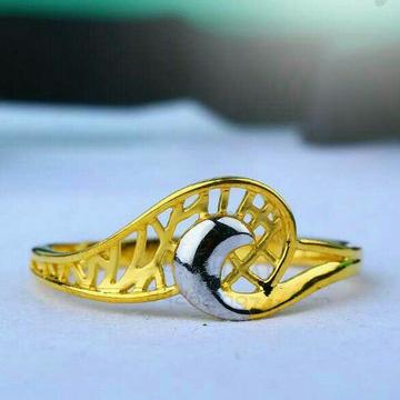 916 Fancy Plain Gold Casting Ladies Ring LRG -668