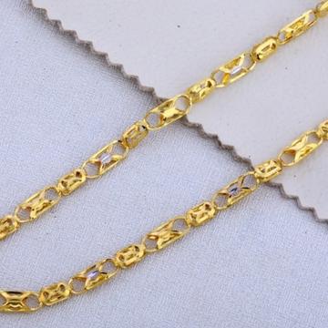 22 carat gold hallmark designer gents chain RH-GC5...