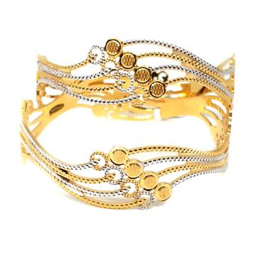 1 gm gold forming bangles mga - gf002