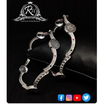 silver ladies bangles RH-LB893