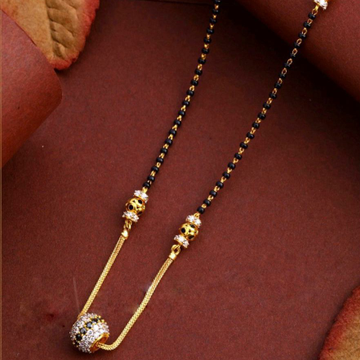 22KT/ 916 Gold casual wear Round boll pendant mang... by