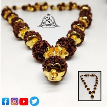 22 carat gold rudraksha mala RH-ML355