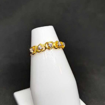 22k Ladies Single Stone Ring